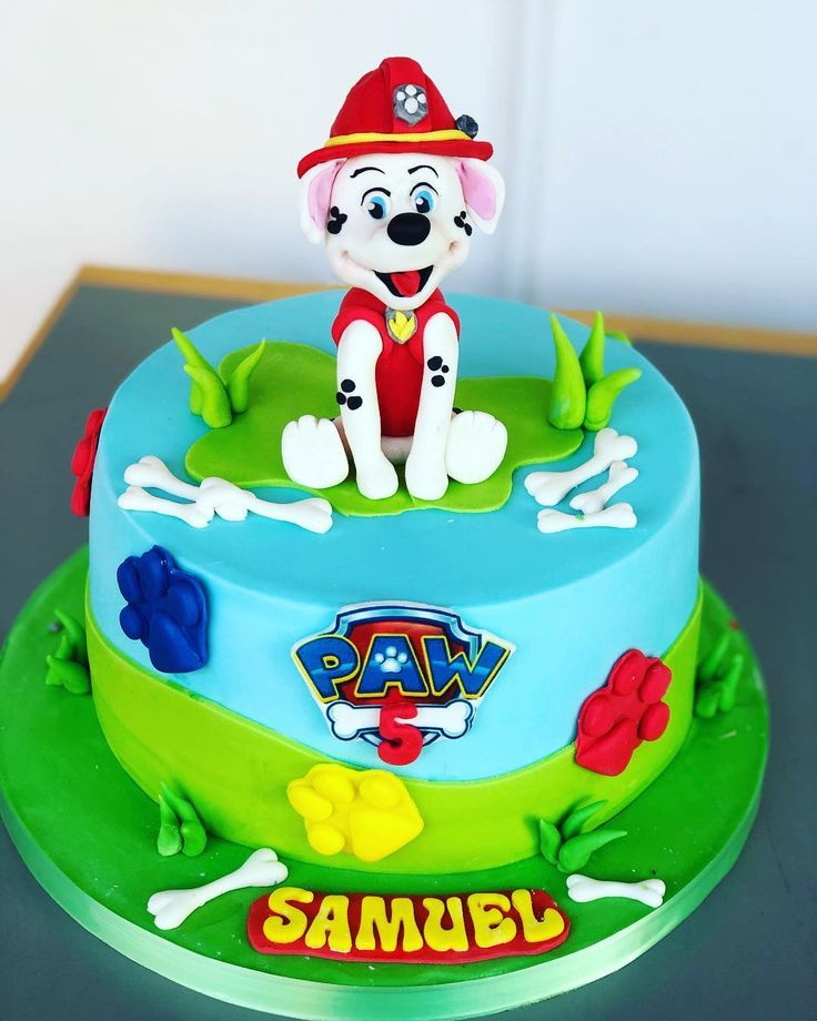 """54 paw patrol birthday cake ideas that are """"on the case"""