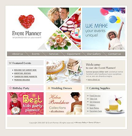 Entertainment Company SWiSH Templates by Delta