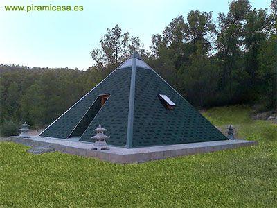 Casa Piramidal Sekhmet de 5x5 m