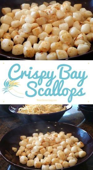 how to prepare bay scallops
