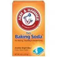 Here's how to make baking soda eliminate your own sweat stains...    Mix a bit of baking soda with water until you have a thick paste. Then use a toothbrush to gently brush the paste into your clothing's sweat stains.    Leave the paste saturating the stain for 20 minutes, then rinse it out with cold water and throw your garment into the laundry on a cold cycle. For bad stains let paste sit overnight.