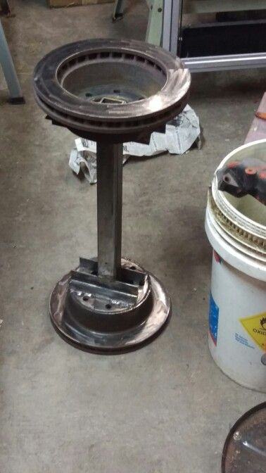 Brake Rotor Bar Stool For Shop Stuff To Make Pinterest