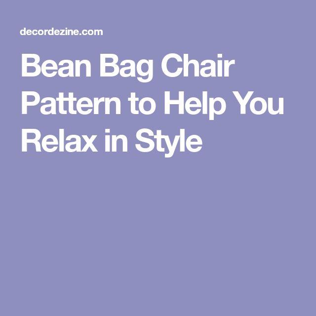 The 25 Best Bean Bag Patterns Ideas On Pinterest