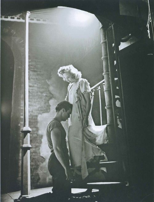 Marlon Brando and Kim Hunter,A Streetcar Named Desire (the play)