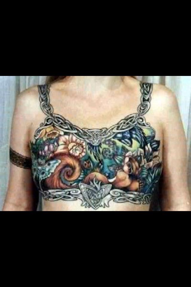 Mastectomy tattoo