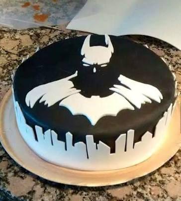 Resultado de imagen para batman pastel