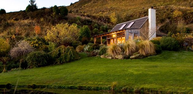 our cabin on the shores of lake wanaka, new zealand