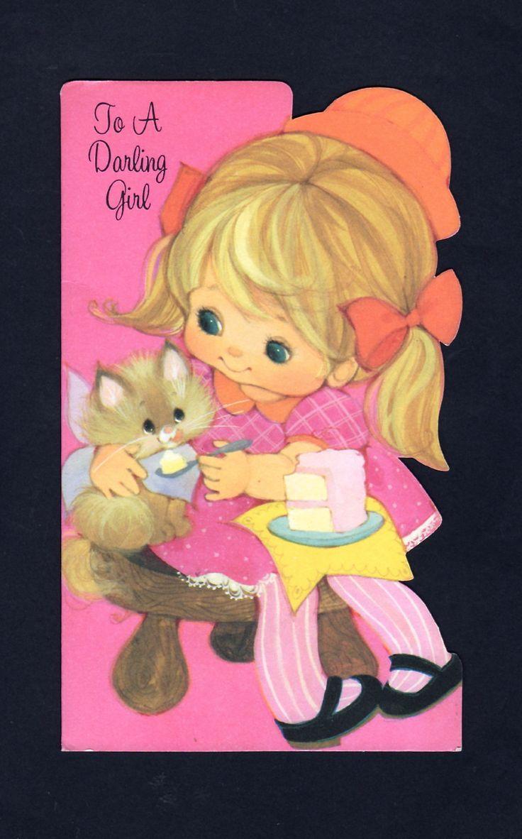 625 Best Vintage Cards Birthday Images On Pinterest Vintage Cards