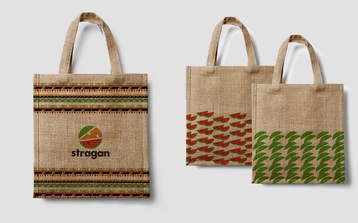 Stragan bags - for grocery store - by Marta Olszewska
