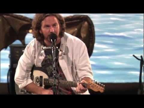 Eddie vedder water on the road lyrics