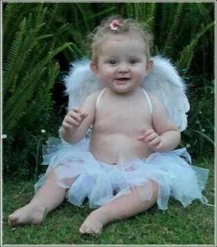 Angel tutu set