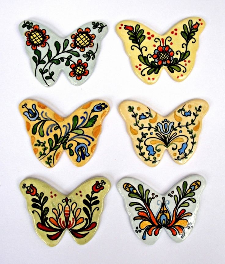 "Brose+ceramica+""Decorated+butterflies"""