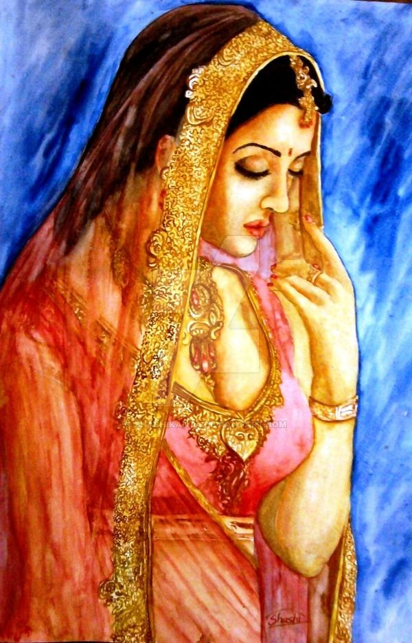Indian woman by Shashikanta on DeviantArt