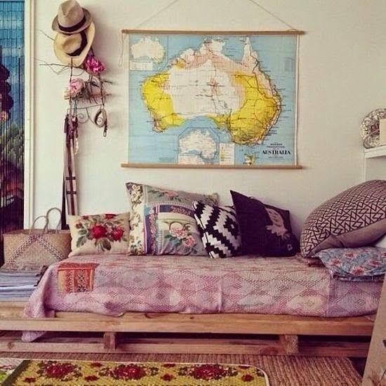 Bohemian Platform Bed Australia