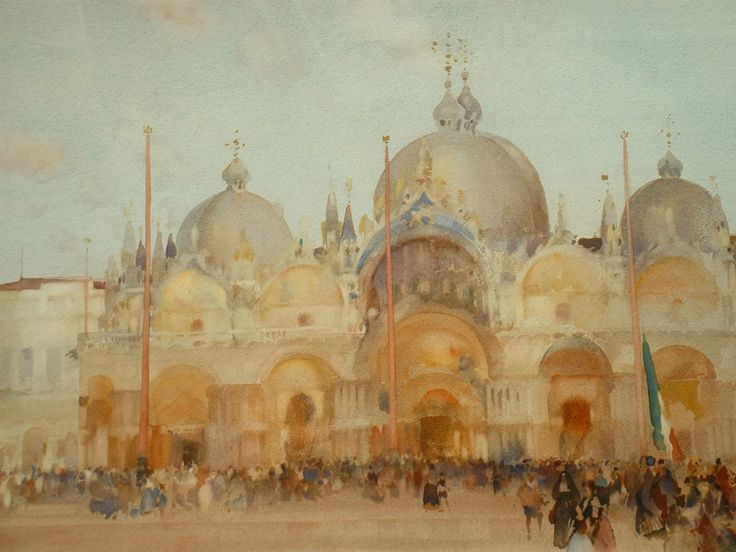 Piazza San Marco by Arthur Melville (Scottish, 1855 - 1904)