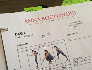 Paleolivet: 21 dage til sprød silhuet. Et kropsforvandlingsprogram af Anna Bogdanova. Status på 2. runde 21 dage til sprød silhuet . Klik ind og læs hvordan det går