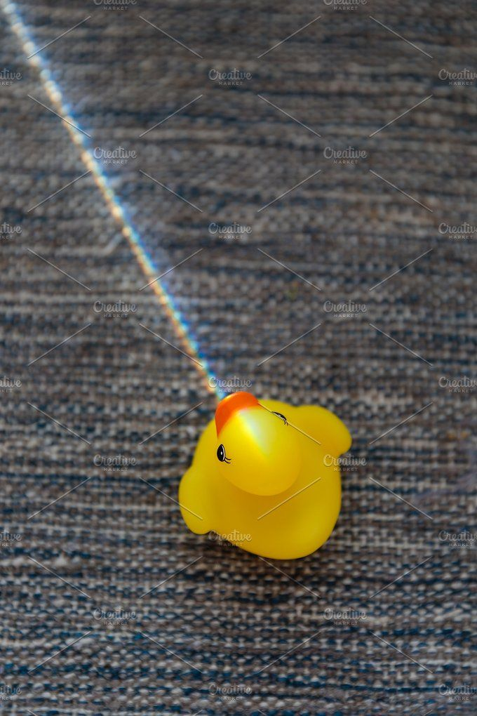 Rubber Duckling by OSORIOartist on @creativemarket