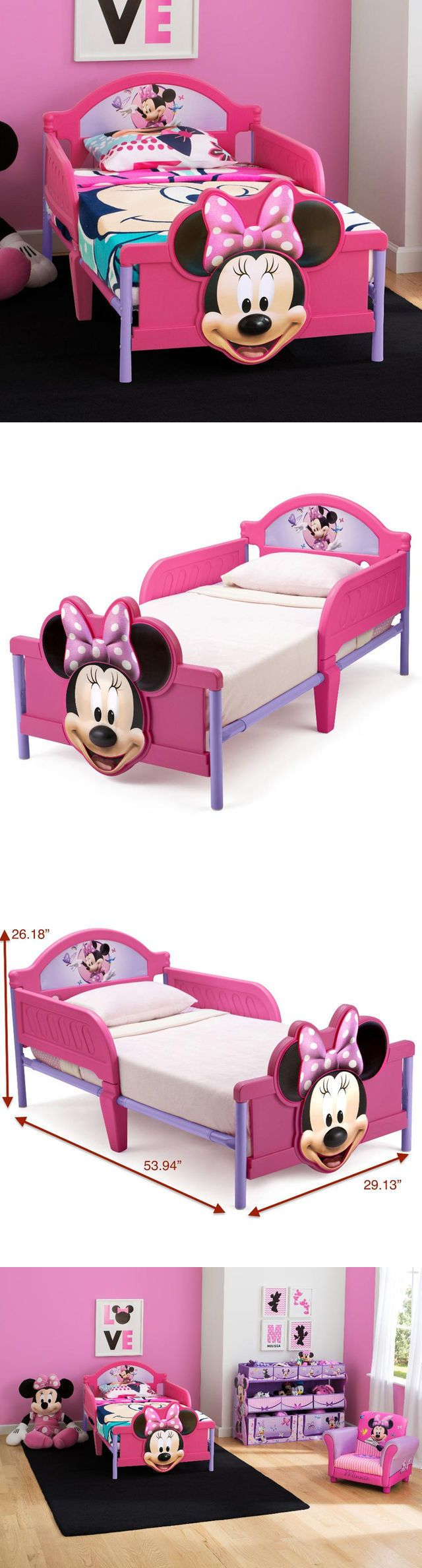 other nursery bedding 20421 disney minnie mouse toddler bed delta