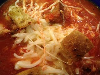 More is Better: Pampered Chef's Chicken Parmesan Soup Find the Deep Covered Baker and many more great recipes and products at www.pamperedchef.biz/CarlyRoss