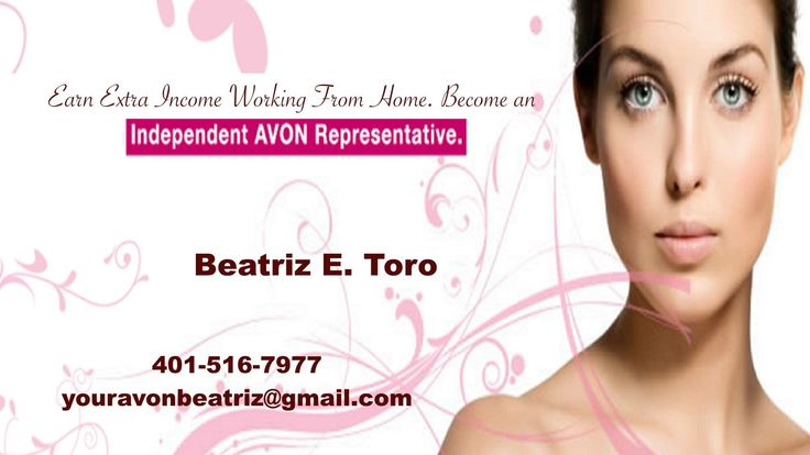 Become an Independent Avon Representative  www.startavon.com Ref Code beatriztoro  Get beauty online  www.youravon.com/beatriztoro  Call me 4015167977