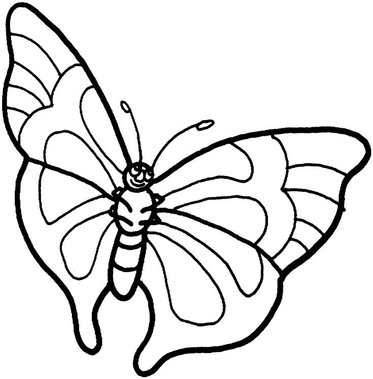 25 best mariposas images on Pinterest | Colouring pages ...