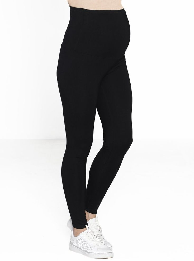 Maternity Deluxe Pull-On Winter Thick Tight Legging in Black, $34.95, are the essential leggings to see you right through your pregnancy in the colder months.