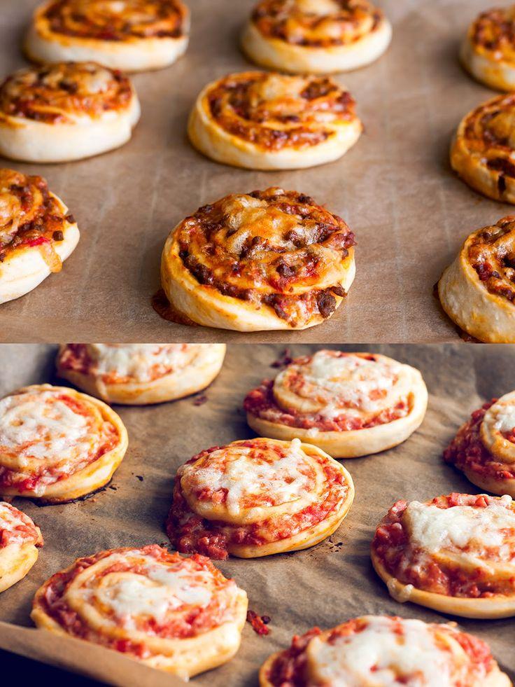 Mad på 4 sal: Pizzasnegle