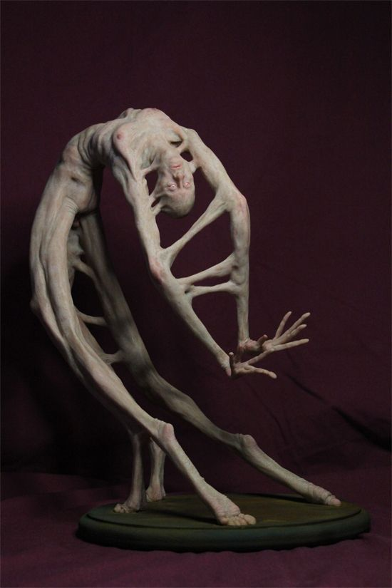 Matthew Levin #art #sculpture #eerie #dark