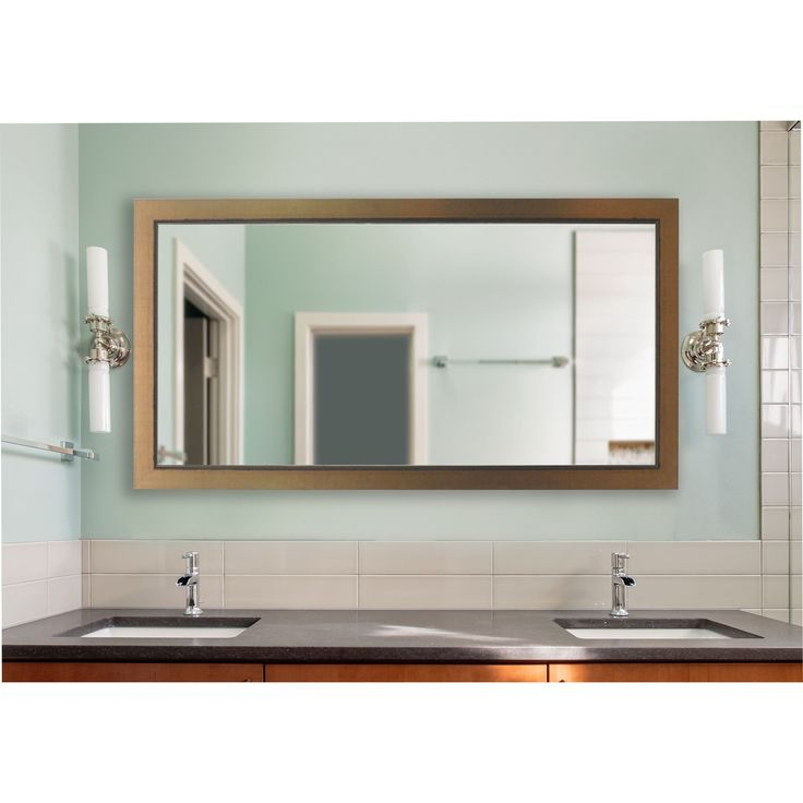 Pics Of American Made Rayne Extra x inch en Lowe Vanity Wall Mirror