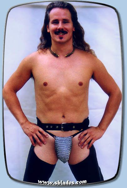 Chainmail & More - Deluxe Mens Chain Mail G-string, Male chainmaille lingerie wear