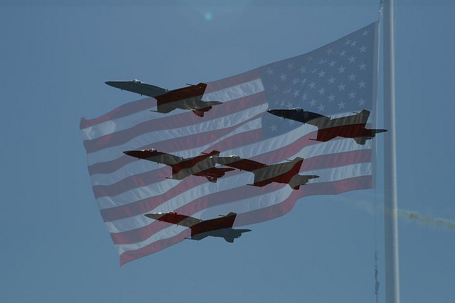 Missing man formation by spindling, This solemn Honors Ceremony Symbolizes they are here with us Hoping someday, they will be back This wish, the most, in God we trust.