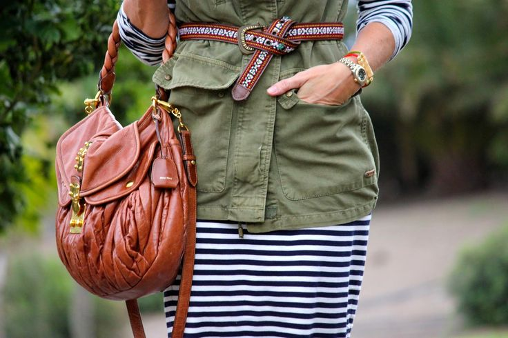 Stripes and sneakers