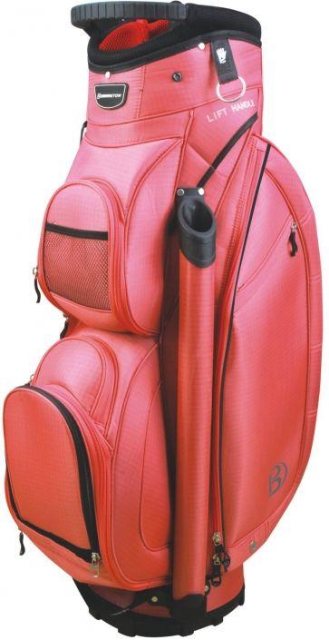 Miss Bennington (Coral) Bennington Ladies 14-Way Golf Cart Bag available at Lori's Golf Shoppe