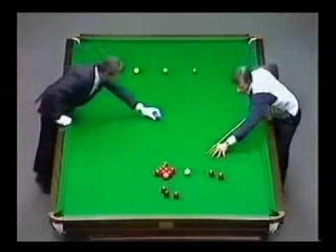 Snooker World Doubles Championship 1984 Alex Higgins & Jimmy White vs Steve Davis & Tony Meo - YouTube