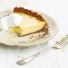 Lemon pie from Garden & Gun magazine. Correction - use sweetened Eagle Brand condensed milk.