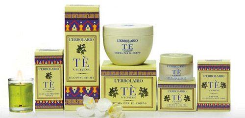 Zöld tea Parfüm illatcsalád Lerbolario Naturkozmetikumok Magyarország
