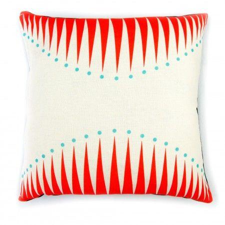 Coral Big Top Cushion   Howkapow