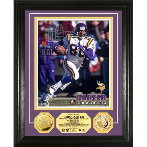 Cris Carter Class of 2013 @Minnesota Vikings Photo Mint. Click to order! - $99.99 #Vikings