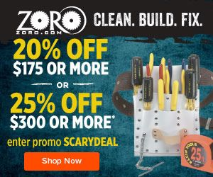 Save at Zoro with Coupons and Cash Back from Ebates!
