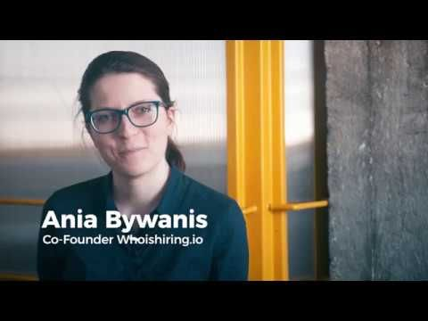 Watch on Youtube here: Testimonial from Ania Bywanis Co-founder Whoishiring.io for MAN.Digital | 161 694 7221>. Via Man Digital Videos