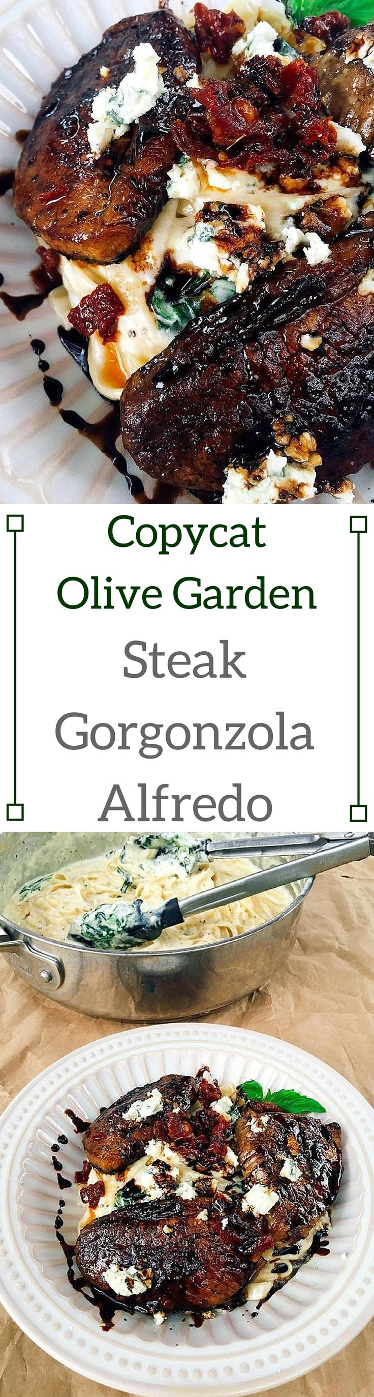 Copycat Steak Gorgonzola Alfredo Recipe Gardens Night Out And I Love