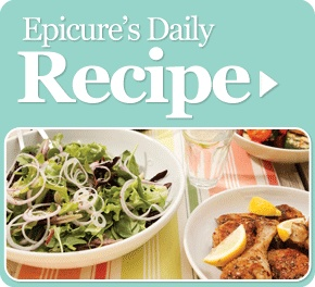 Get delicious, easy and healthy recipes ideas sent to you daily from Epicure Selections