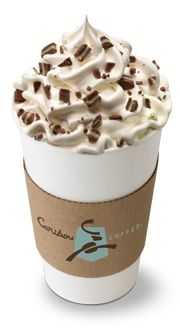 Caribou Mint Condition (with white chocolate)-- My fav coffee shop drink.