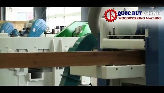 HIGH SPEED DOUBLE SIDE PLANER 0.6M - WOODWORKING MACHINE. More information at:http://quocduy.com.vn/ , http://quocduy.com/ Contact with us:  QUOC DUY ENGINEERING & MACHINERY CO., LTD Tel: (+84-8) 7309 5276 - 0903 600 113 Email : info@quocduy.com.vn Address: 11/19 Nguyen Oanh Str., Ward.10, Go Vap Dist., Ho Chi Minh City
