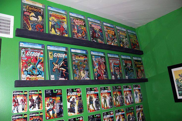 Comic Book Room Idea - I'm such a nerd, cause I think this is cool lol