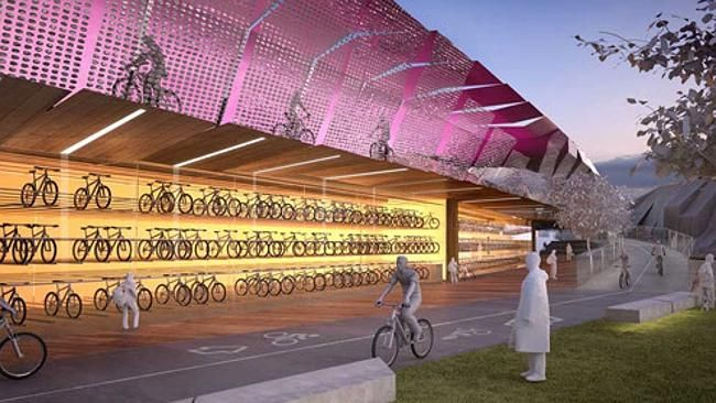 http://www.heraldsun.com.au/news/victoria/consortium-pushes-melbourne-plan-for-elevated-cycle-freeway-to-keep-bikes-and-cars-separate/story-fni0fit3-1227019899820