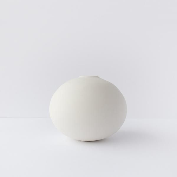 Round vase from Norwegian maker Henrik Rasmussen