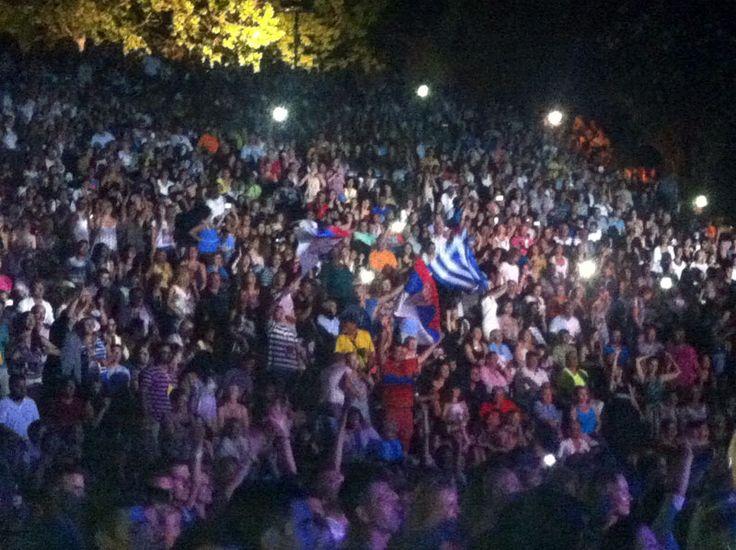 Serbian loves Greek Music #Siviri #Concert #Halkidiki #Music #greeksummer #serbia #flags   http://gohalkidiki.com
