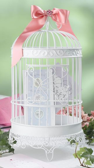 Birdcage For Wedding Gift Cards : Gift card bird cage Ideas for Wedding Pinterest