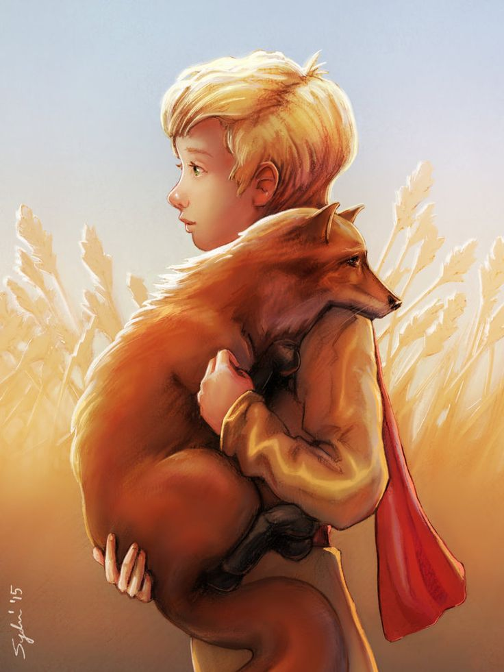 """Submission for my digital painting class. We have to do an illustration for book cover and I chose to do The little prince by Antoine de Saint-Exupéry. And here is the quote for this scene """"I hunt ..."""